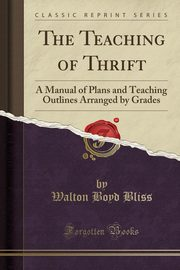 The Teaching of Thrift, Bliss Walton Boyd