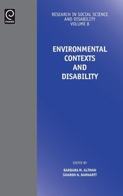 Environmental Contexts and Disability,