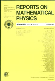 Reports on Mathematical Physics 60/2 wer.zagr.,