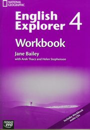 English Explorer 4 Workbook with CD, Bailey Jane, Tkacz Arek, Stephenson Helen