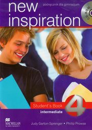 New Inspiration 4 Intermediate Student's Book + CD, Garton-Sprenger Judy, Prowse Philip