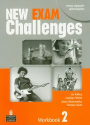 New Exam Challenges 2 Workbook z płytą CD, Kilbey Liz, White Lindsay, Sikorzyńska Anna