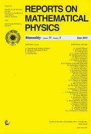 Reports on Mathematical Physics 54/3,
