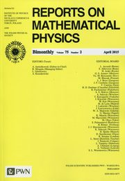 Reports on Mathematical Physics 75/2 2015 Kraj,