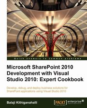 Microsoft Sharepoint 2010 Development with Visual Studio 2010 Expert Cookbook, Kithiganahalli Balaji