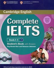 Complete IELTS Bands 4-5 Student's Pack (Student's Book with Answers with CD-ROM and Class Audio CDs (2)), Brook-Hart Guy, Jakeman Vanessa