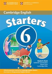 Cambridge Young Learners English Tests 6 Starters Student's Book,