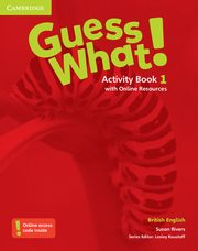 Guess What! 1 Activity Book with Online Resources, Rivers Susan