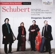 Schubert: String Quartets Vol. 5, Diogenes Quartet