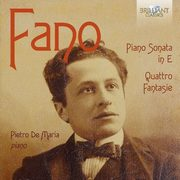 Piano Sonata In E Minor / Quattro Fantasie, Fano G. A.